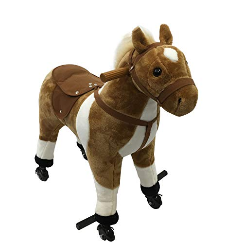 Qaba Kids Plush Ride On Toy...