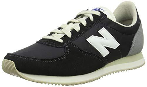 New Balance 220, Zapatillas Unisex Adulto, Negro (Black/Steel Fe), 42 EU