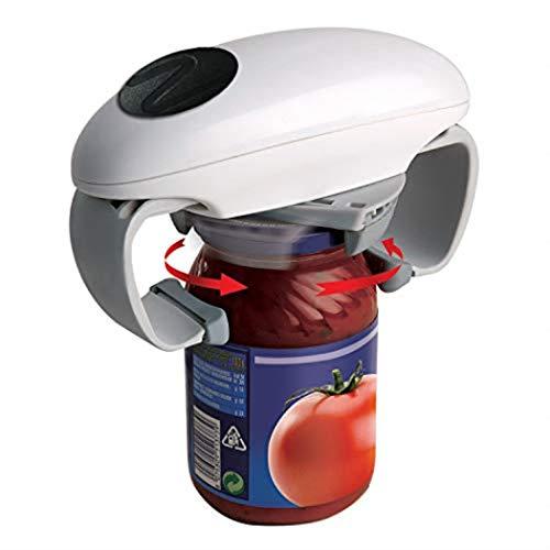 Automatic Can Opener, Wisfruit Electric Can Opener Bottle Opener, Adjustable Non-slip Restaurant Opener, Seniors Arthritis Women, or Chef's Choice