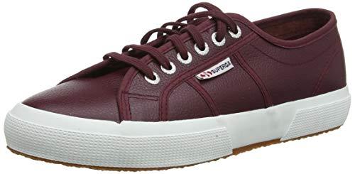 Superga Unisex-Erwachsene 2750-EFGLU Sneaker, Rosso (Bordeaux A77), 39.5 EU