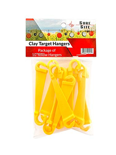 SURE SITE Clay Pigeon Target Hangers 10-Pack. Small