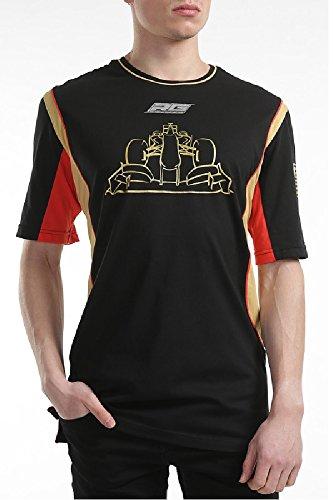 Formel 1Lotus F1Team Leinwandbild Romain Grosjean schwarz Lifestyle Herren T-Shirt schwarz schwarz L