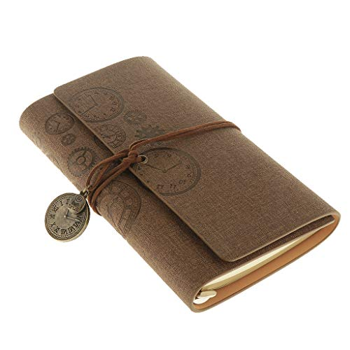 1 Pieza Blocs para Gráficos Datos Formularios Registros Manuscritos Cuadernos de Viajes - café