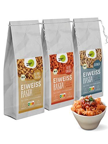 Pumperlgsund Eiweiß-Pasta |Low Carb Nudeln (glutenfrei) | Protein Pasta