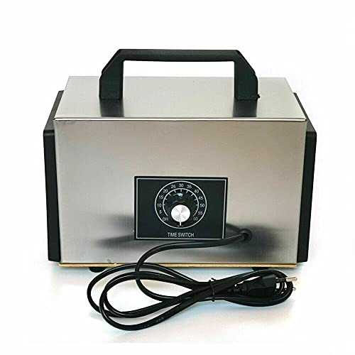 Purificador de aire de ozono industrial, generador de olores, 20 g/h, dispositivo de ozono para habitaciones, casa, coche, salas de reuniones