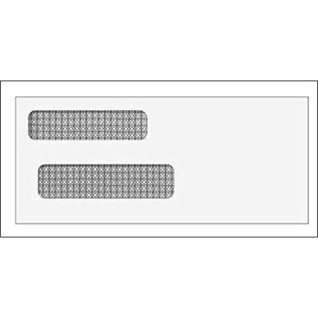 8 5//8 x 3 5//8-500 envelopes EGP Self Seal Double Window Envelope