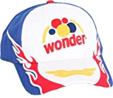 Talladega Nights Wonder Bread Retro White Hat Cap