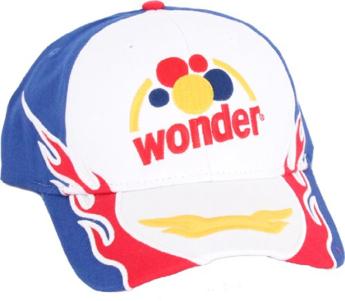 Talladega Nights Wonder Bread Retro White Hat Cap