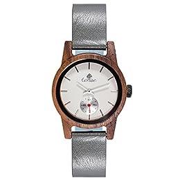 ✿ tense–L' orologio in legno–Realizzato a mano in Canada–Premium qualità dal 1971✿ tense Wooden Watches è probabilmente la più antica legno orologi Manufaktur ✿ naturale, in legno riciclato//sicurezza//acqua protetto per uso quotidiano 10047; ...