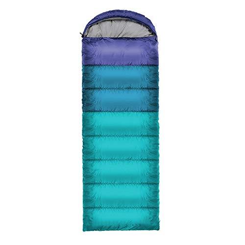 Ultralichte slaapzak voor volwassenen, camping, camping, camping, camping, camping, dubbel genaaid