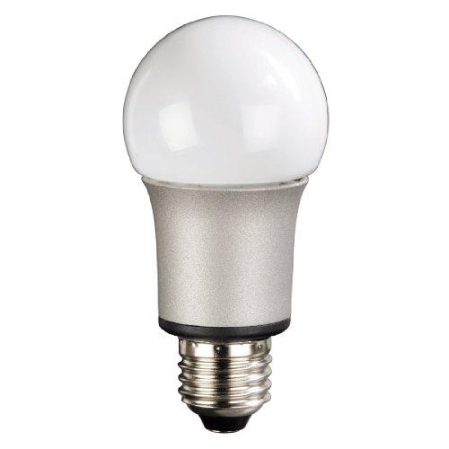 Hama 112074 - Lámpara LED (Blanco cálido, Plata, Color blanco, A, 230 V, 33 mA, 56 mm)