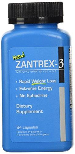 Zantrex-3, 84 Capsules Zantrex 3