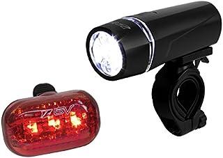 BV Bicycle Light Set Super Bright 5 LED Headlight, 3 LED...