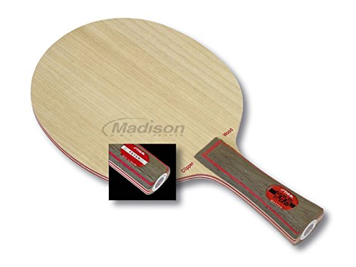 Stiga Clipper (Master Grip) Table Tennis Blade, Wood, One Size