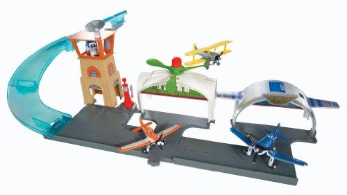 Hot Wheels - Aeropuerto Hélices Junction, accesorios para muñecas (Mattel Y0995) , color/modelo surtido