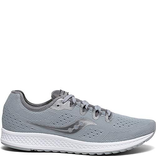 2 - Saucony Men's Versafoam Flare Running Shoe, Grey, 10