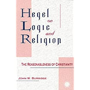 Hegel on Logic and Religion The Reasonableness of Christianity (Suny Series in Hegelian Studies)