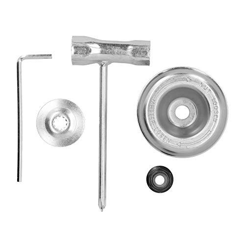 2 juegos de adaptadores de cuchillas para cortacésped de jardinería, kit de mantenimiento de accesorios de adaptador de cuchillas para desbrozadoras para accesorios de recortadoras STIHL