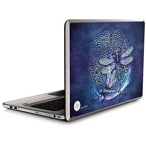 Skinit Decal Laptop Skin Compatible with Envy 17 (2014) - Originally Designed Dragonfly Celtic Knot Design