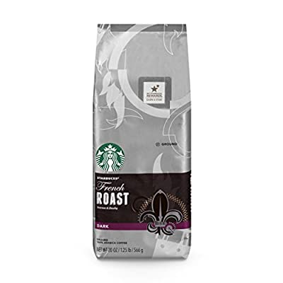 Starbucks French Roast Ground Coffee, 6 Count from Starbucks