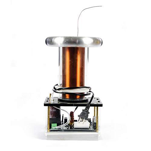 WIEUR Musik Tesla Spule SSTC 800W groß Musik Plasma Hornlautsprecher Elektronische Bauteile Elektronisches DIY Tesla Coil Kit