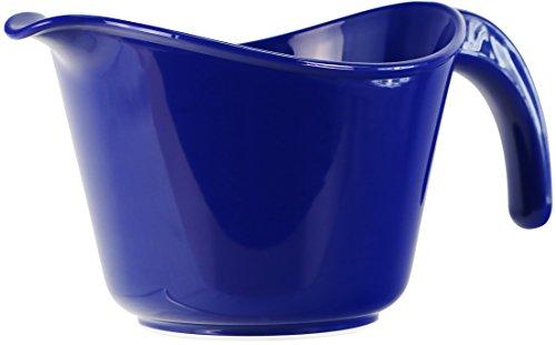Reston Lloyd Microwave Safe Calypso Basics 2 Quart Batter Bowl, Indigo