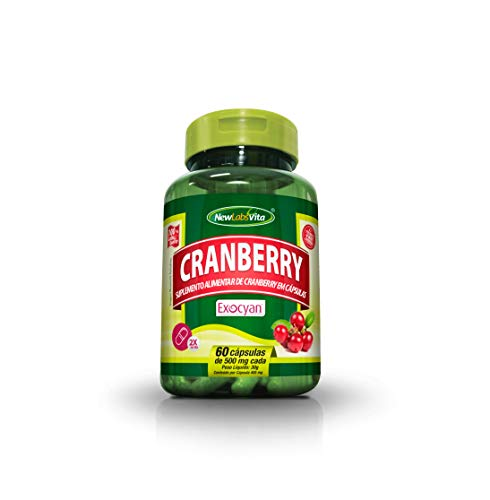 Cranberry - Fórmula Concentrada - 60 Cápsulas, New Labs Vita