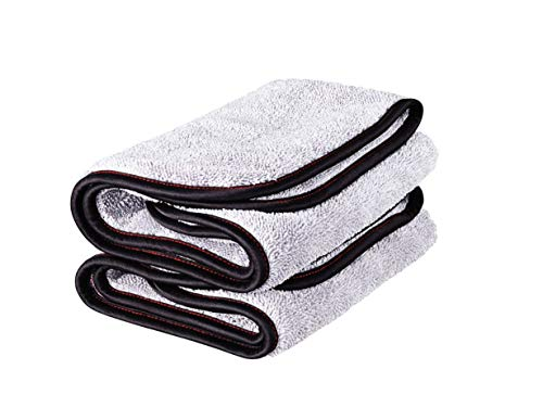 Griot's Garage 55586 PFM Terry Weave Towel (Set of 2), Grey, 16