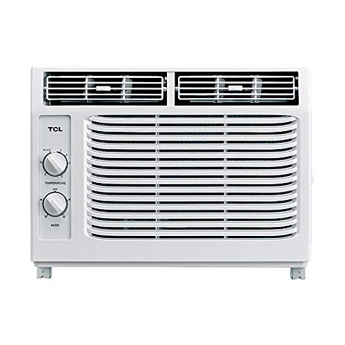 TCL 5,000 BTU 115V Window-Mounted Air Conditioner with Mechanical Controls