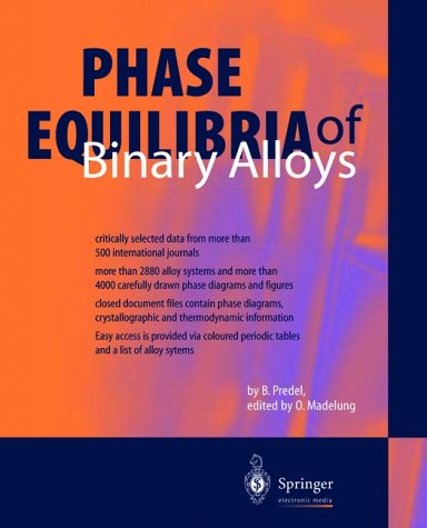 Phase Equilibrium of Binary Alloys, 1 CD-ROM