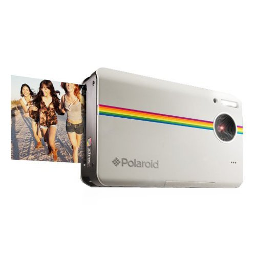 Polaroid Z2300 10MP Digital Instant Print Camera (White): POLAROID