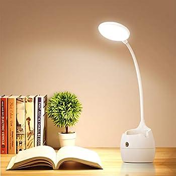 Samuyang Led Desk Lamp with Pen Holder & Phone Stand