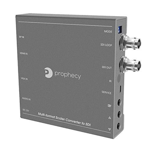 gofanco Prophecy Multi Video Format to SDI Scaler Converter – Input HDMI/Mini DisplayPort/VGA, SDI Output up to 3G/HD/SD-SDI, SDI Loopout, Frame Rate Conversion (PRO-Scaler2SDI)