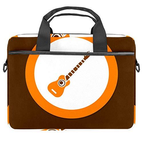 Laptoptasche mit Gitarren-Icon-Motiv, Aktentasche, Laptop, Schultertasche, Messenger-Tasche für Apple MacBook, Laptop, Aktentasche