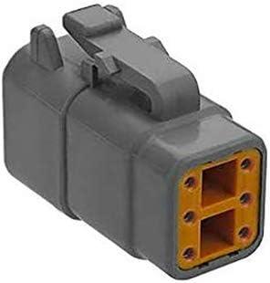 Sensor-1 A-C-DTM06-6S 6-Pin online shop Plug Grey Deutsch Rapid rise Mini