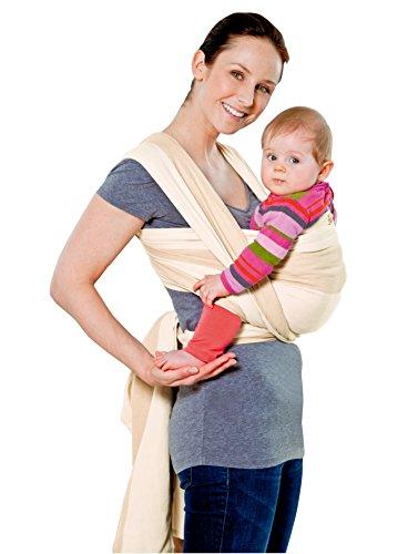 AMAZONAS Babytragetuch Carry Sling Kalahari 450 cm 0-3 Jahre bis 15 kg in Beige