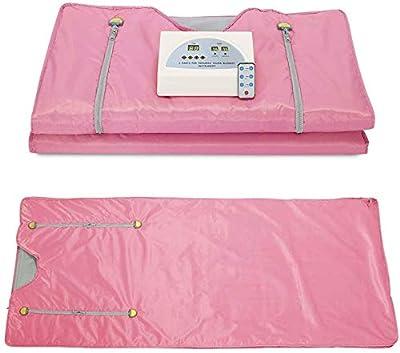 Kacsoo 2 Zone Digital Far-Infrared (FIR) Oxford Sauna Blanket,Sauna Blanket for Weight Loss Body Shape Slimming Fitness 110V