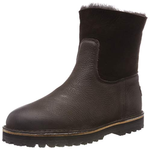 Shabbies Amsterdam Damen SHS0290 Schlupfstiefel, Braun (Dark Brown 3037), 40 EU