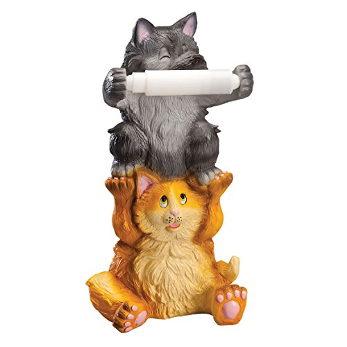 Fox Valley Traders Colorful Kittens Toilet Paper Holder by OakRidgeTM