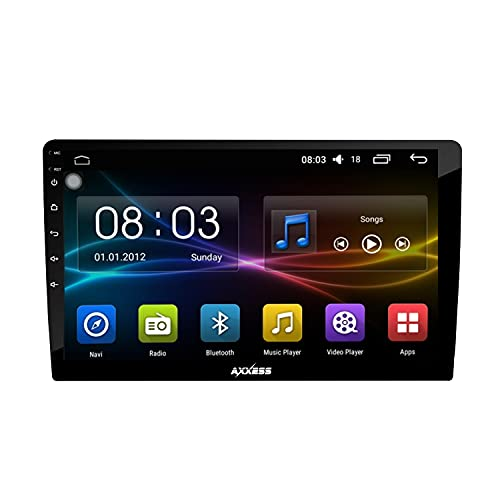 Axxess Universal Android 9.0 Touchscreen Double in car Stereo Player with Navigation/GPS/WiFi/ Bluetooth/ Full hd 1080p (2gb/16gb ROM)
