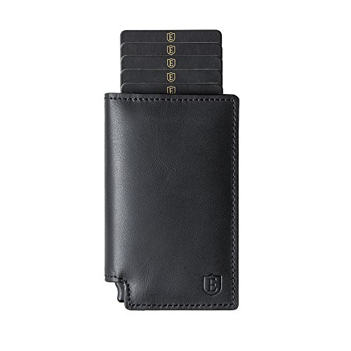 Ekster Parliament ('18 Collection) - Slim Leather Wallet - RFID Blocking - Quick Card Access