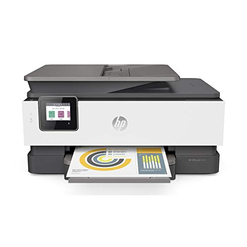 HP OfficeJet Pro 8022 Multifunktionsdrucker (HP Instant Ink, Drucker, Scanner, Kopierer, Fax, WLAN, LAN, Duplex, HP ePrint, Airprint, mit 9 Probemonaten HP Instant Ink Inklusive) Basalt