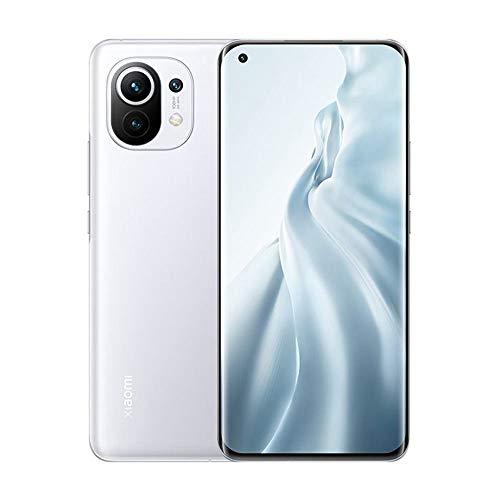 Xiaomi Mi 11 5G グローバル版 (256GB + 8GB RAM) ■Android 11搭載 ■Google Play対応■ Triple Camera (108+13+5MP) ■ 4600mAhバッテリー ■ 6.81インチ AMOLED, 1B colors, リフレッシュレート120Hz ■ SIMフリー ■ Dual SIM対応 ■ スマートフォン ■ 日本語対応 (Cloud White/クラウドホワイト)