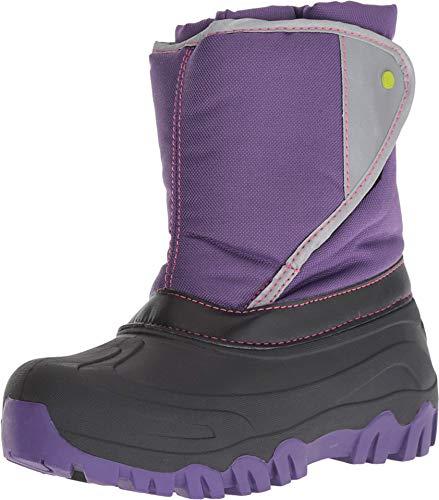 Western Chief Kids Girls Selah Snow Boots (Toddler/Little Big Kid), Purple, 6