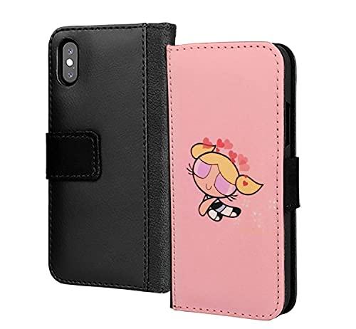 Love Hearts Jetsons Girl Anime Shades PU Cartera de cuero en la tarjeta de la caja del teléfono para Huawei Y6 2019