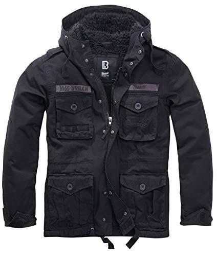 Brandit M65 Urban Winterjacke Schwarz Gr. XL
