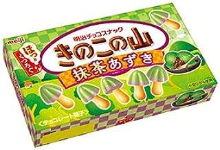 Meiji Kinoko No Yama Matcha Azuki, Japanese style snack 2.32oz