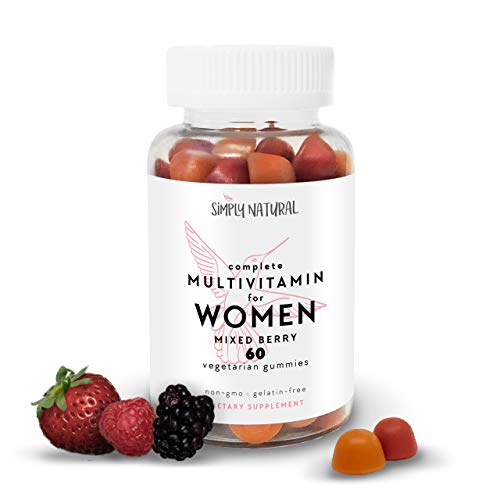 Women's Gummy Multivitamins (30 Day Supply) : Daily Vitamins and Minerals Including Vitamin C and D3 for Immunity, Biotin for Hair, Skin, and Nails, B12 for Energy, Vegetarian-Friendly, Non-GMO…