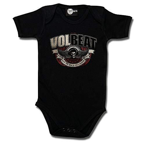 Metal-Kids Volbeat (SkullWing Boogie) - Baby Body Größe 56