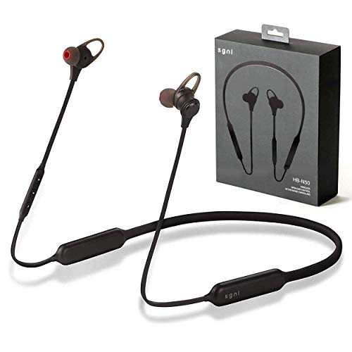 SGNL HB-N50 Wireless Earbuds - in Ear Bluetooth Headphones - Noise Cancelling and Open Ear Control Switch Options Earphones, Up to 13 Hours Playback, Rich Bass, Best HD Stereo Sound